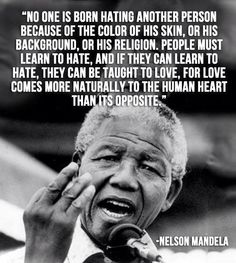 Wise man-the power of love & compassion is a true trait not this manufactured hate literally for profit&manipulation