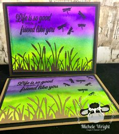 The Cow Whisperer's Creative Cards:Friend Like You Bundle and Pigment Sprinkles Card Creative Video, Creative Cards, Distress Ink Techniques, Paper Art, Paper Crafts, Apple Boxes, Happy Wishes, Happy Baby, Coordinating Colors