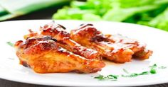 Honey Baked BBQ Wings with Jack Daniel's