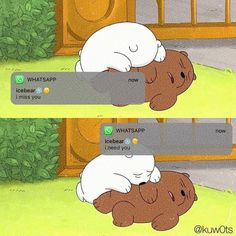 Wallpaper Qoutes, Cartoon Wallpaper Iphone, Bear Wallpaper, Cute Disney Wallpaper, We Bare Bears Wallpapers, Panda Wallpapers, Cute Cartoon Wallpapers, Ice Bear We Bare Bears, We Bear