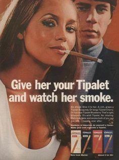 Barbara Carrera dans une publicité pour les cigarillos Tipalet  #2