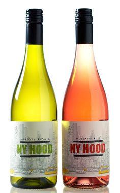 NY Hood wine on Behance