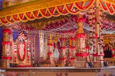Mandap Decoration to make it look like a temple.