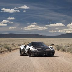 Huayra in the open expanses of Arizona on our ‪#‎PaganiRoadTrip #pagani #huayra