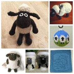 knit some sheep for the year of the sheep