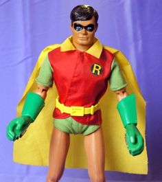 "MEGO ROBIN FROM BATMAN 1979 12"" ACTION FIGURE DC COMICS  #DCComics"