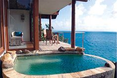 Plunge Pool with a view....  Royal Duvai Fiji