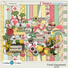 Fresh Squeezed by Crisdam Designs