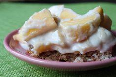 Peach Delight (Paleo, Grain-free, Gluten-free, Dairy-free!) | The Unrefined Kitchen | Paleo & Primal Recipes