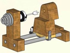 Build a Lathe out of Bicycle Parts and Other Junk 2 of 2: