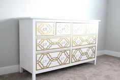 A Pretty Penny: DIY Ikea Dresser Hack: My Overlays...