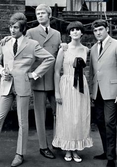 Steampacket, formed in 1965, with Rod Stewart, Long John Baldrey, Julie Driscoll and Brian Auger.