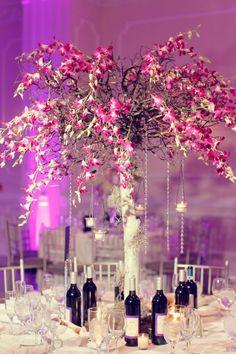 eiffel tower wedding decorations
