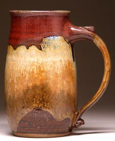 Large Wheelthrown Mug by Beth Mangum