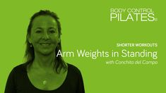 Shorter Workouts: Arm Weights in Standing with Conchita del Campo - Body Control Pilates Central Pilates Workout, Workout Shorts, Workouts, Ballet Body, Spanish Dance, Margot Fonteyn, Rudolf Nureyev, City Ballet, Pilates Studio