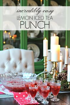 Shower or wedding shower punch recipe easy delicious punch recipe