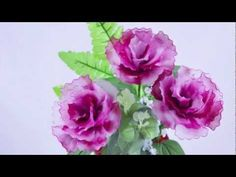 FREE VIDEO TUTORIAL ~ How to Make New Style Carnation  FREE VIDEO TUTORIALS ~ OTHER TUTORIALS @ http://www.blisswonders.com/training-a/