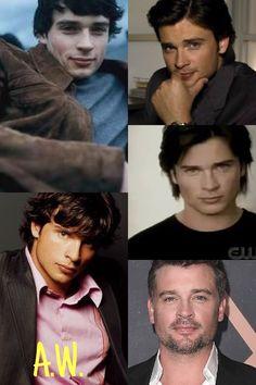 Lois E Clark, Tom Welling, Kristin Kreuk, Men's Toms, Smallville, Gorgeous Men, Superman, Sexy Men, Actors