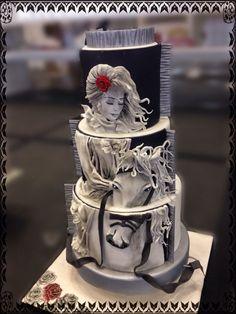 Stunning cake art