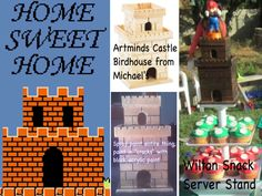 Mario Bros Party...DIY castle