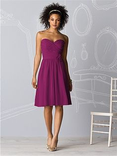 Dessy Collection Bridesmaids Style 6609 http://www.dessy.com/dresses/bridesmaid/6609/