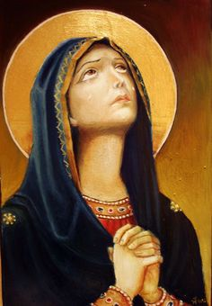 Greek Orthodox Icon of Mary
