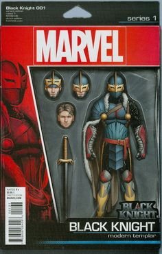Black Knight Vol 4 #1 Cover C Variant John Tyler Christopher Action Figure Cover