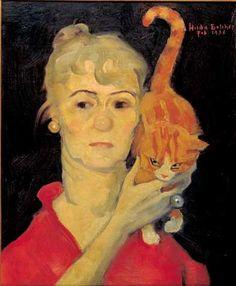 Hilda Belcher (1881-1963) - Self-portrait