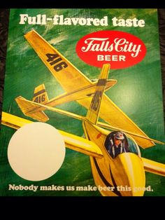 Fall City Beer Sign