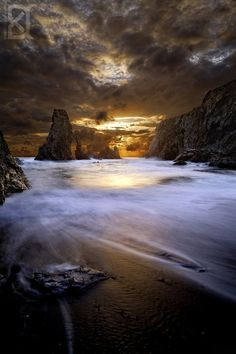 Brown Cotton, Bangor,Bey of Biscay, France, by David Keochkerian.