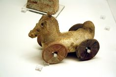 File:5013 - Archaeological Museum, Athens - Toy horse - Photo by Giovanni Dall'Orto, Nov 13 2009.jpg