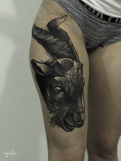 #tattoo#tattoos#goat