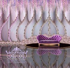 More inspiration ♡ Pinterest: BeccaofSweden Wedding Stage Design, Wedding Stage Decorations, Marriage Decoration, Garland Wedding, Wedding Designs, Wedding Styles, Wedding Mandap, Indian Wedding Receptions, Desi Wedding