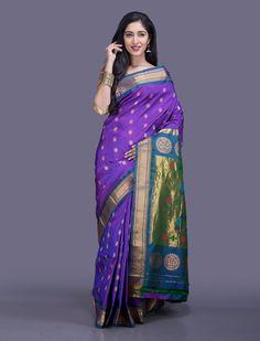 Suman Paithani Silk Saree