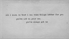 I'll always be here, A.   ^City and Colour