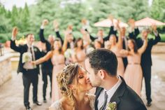 Bridal party photos at the Stone House in Stirling Ridge. Captured by NJ wedding photographer Ben Lau.
