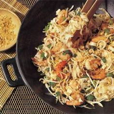 Shrimp Pad Thai - fast and easy but authentic-tasting.