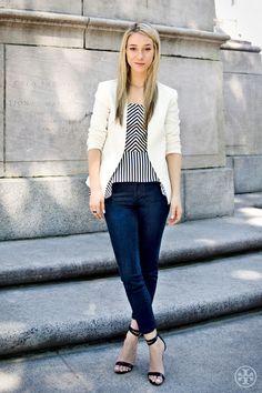 Street Style: Ashley Avignone   The Tory Blog