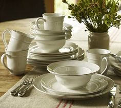 I will never own enough white dishes.