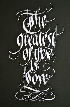 calligraphy / ReggieEzell.com #typography
