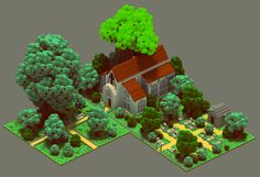 Medieval scenes by Sir Carma This is some very remarkable voxel work! The…