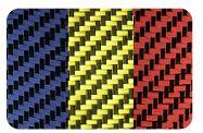 Colored Carbon Fiber and Kevlar Fabrics