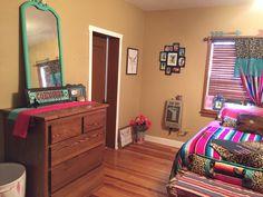 Finished!! Cowgirl Serape Cheetah Bay Nursery & Dresser