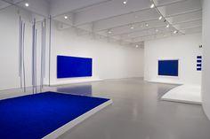 Yves Klein Blue Installation