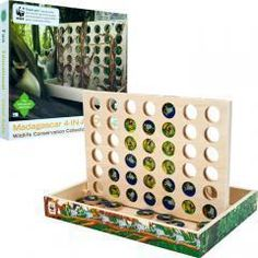 WWF Madagascar 4-In-A-Row from FSC Certified Wood  $28.79