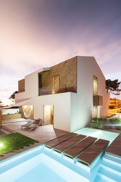 Silver Wood #House by Ernesto Pereira by Joao Morgado - Architectural Photography