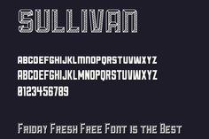 Friday Fresh Free Fonts 140