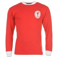 65.00 AUD Liverpool 1963-1968 home soccer football shirt by Score Draw.  Visit 91c9fab2f00fa