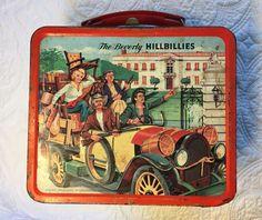 Vintage 1963 Metal The Beverly Hillbillies Lunchbox 2