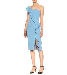 81cab2c6c68 Rebecca Vallance - Ruffled crêpe midi dress